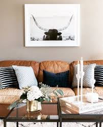 Brown Leather Sofa Living Room Ideas by Best 25 Brown Leather Couches Ideas On Pinterest Living Room