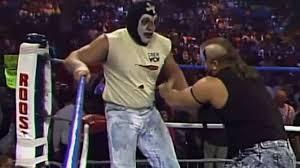 Halloween Havoc 1995 by The Road Warriors Vs The New Skyscrapers Wrestle War 1990