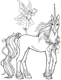 Free Collection Of 40 Pegasus Unicorn Coloring Pages