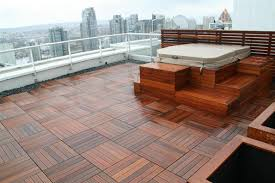 wood deck tiles for aesthetic use innonpender beautiful