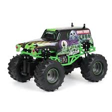 Shop New Bright 1:15 Remote Control Full Function Monster Jam Grave ...