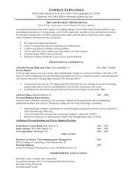 Resume Examples For Bank Teller Entry Level Banking Sample Position No