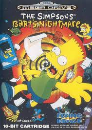 The Simpsons Bart s Nightmare Box Shot for Genesis GameFAQs