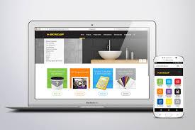 Dunlop Website Design 1