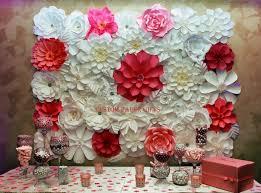 Handmade Wall Decoration Paper Flowers By Custom Money Gifts Photo Photomaniac7