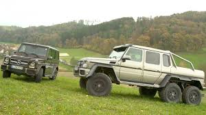 2014 Mercedes-Benz G63 AMG 6X6 Vs 2014 Mercedes-Benz G63 AMG! Head 2 ...