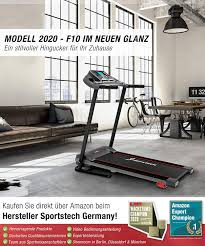 sport ripping f10 treadmill with smartphone app