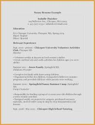 Examples Of Resumes For Jobs Awesome Fresh Resume In Spanish Template You