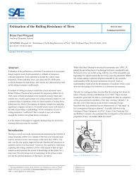 PDF) Estimation Of The Rolling Resistance Of Tires Buy Passenger Tire Size 23575r16 Performance Plus Coinental Hybrid Ld3 Td Tyres Truck Coach And Bus Overview Of Test Systems Ppt Download Tyre Label Wikipedia Rolling Resistance Plays A Critical Role In Fuel Csumption Bridgestone Ecopia Show Ontario California Quad Low Resistance Measurement Model Development Journal Engmeered Specifically For Acpowered Trucks Highest Dynamic Load Truck Tires As Measured Under Equilibrium Greenhouse Gas Mandate Changes Vocational Untitled