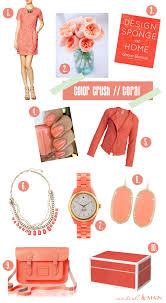 Color Crush // Coral | Modish & Main
