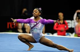 Simone Biles Floor Routine Score by Simone Biles On Top Again At Us Gymnastics Championships Naples