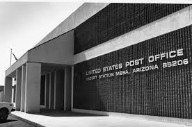 Post fice Chandler Museum Archives