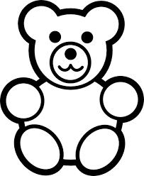 Picture Royalty Free Download Baby Bear Clipart Black And White Gummy Silhouette At Getdrawings