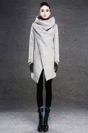 coat asymmetrical coat coats modern wool coat grey coat