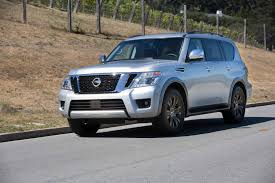 Armada | Auto Reviews | The Carspondent 2018 Nissan Armada Platinum Reserve Wheel The Fast Lane Truck With Ielligent Rear View Mirror Palmer Vehicles For Sale 2017 Takes On The Toyota Land Cruiser With A Rebelle Yell Turns Rally Car Kelley Tractor And Pull Fair 2011 Nissan Armada Platinum 4wd Suv For Sale 587999 Adventure Drive First Of Pathfinder Titan 2015 Sv 5n1aa0nc1fn603728 Budget Sales 2012 Used 4dr Sl At Conway Imports Serving