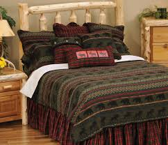 Rustic Cabin Furnishings Luxury Bedding In Style Decorate Of Huts