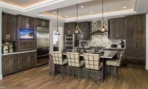 in vogue with grey contemporary kitchen calgary by