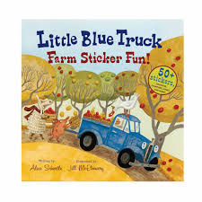 Little Blue Truck Farm Sticker Fun Book Little Blue Truck Party Favors Supplies Trucks Christmas Throw A The Book Chasing After Dear Board Alice Schertle Jill Mcelmurry Darlin Designs The Halloween And Garland Craft Book Nerd Mommy Acvities This Home Of Mine Little Blue Truck Childrens Books Read Aloud For Kids Number Games Based On Birthday Package Crowning Details Vimeo Story Play Teach Beside Me