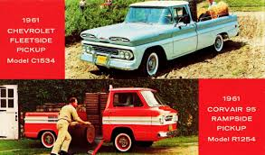 100 Chevy Corvair Truck The Amazo Effect Chevrolet Greenbrier