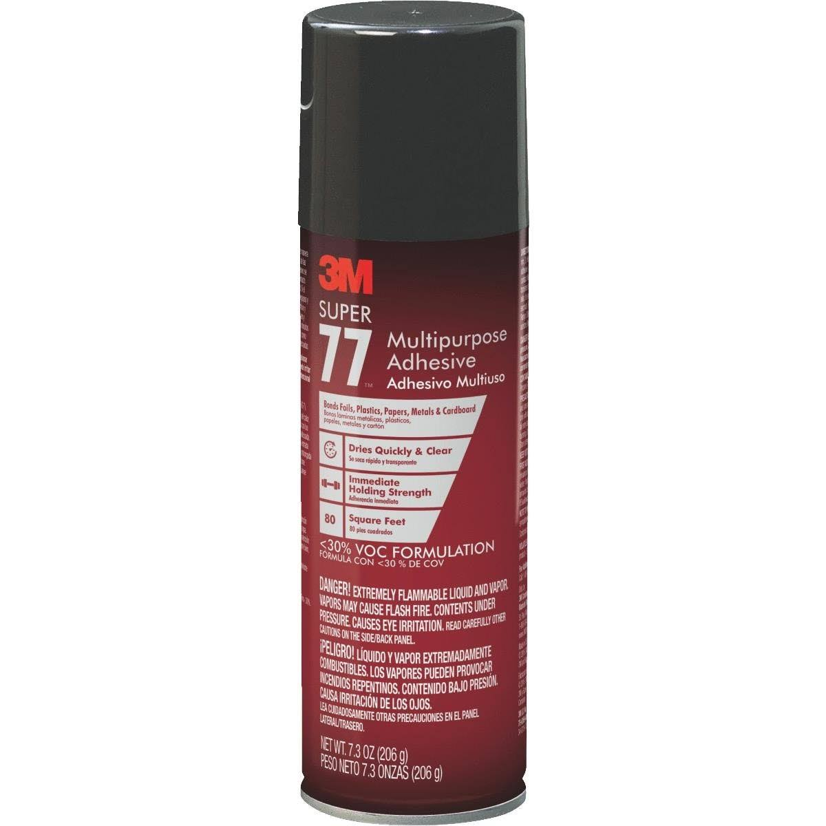 3M Super 77 Multupurpose Adhesive Spray - 7oz