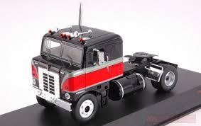 100 Toy Kenworth Trucks IXO MODEL TR036 KENWORTH BULLNOSE 1950 BLACKRED 143 MODELLINO DIE CAST MODEL CamionScala 143