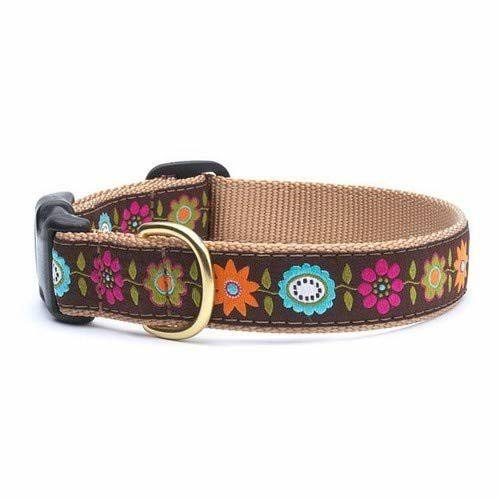 Up Country Bella Floral Dog Collar - Small