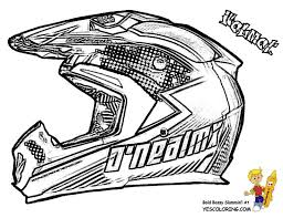 Mighty Motorcycle Coloring Pages Inspirational Bike Helmet Page