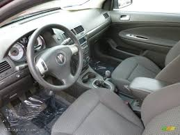 100 G5 Interior Ebony 2007 Pontiac Standard Model Photo