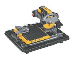 Kobalt Tile Saw Manual by Dewalt D24000 1 5 Horsepower 10 Inch Wet Tile Saw Power Tile