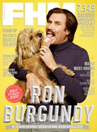 Anchorman I Love Lamp Shirt by From The Fhm Archive At Home With Ron Burgundy Fhm