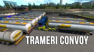 100 Falcon Trucking Trameri Convoy YouTube