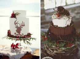 Modern Concept Winter Wedding With Southboundbride Rustic Unique Cakes