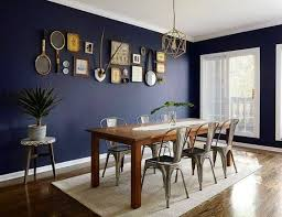 Get Inspired By Photos Of Navy Blue Dining Rooms Domino Shares Room Decor Ideas To Inspire Your Next Home Project Or Redesign