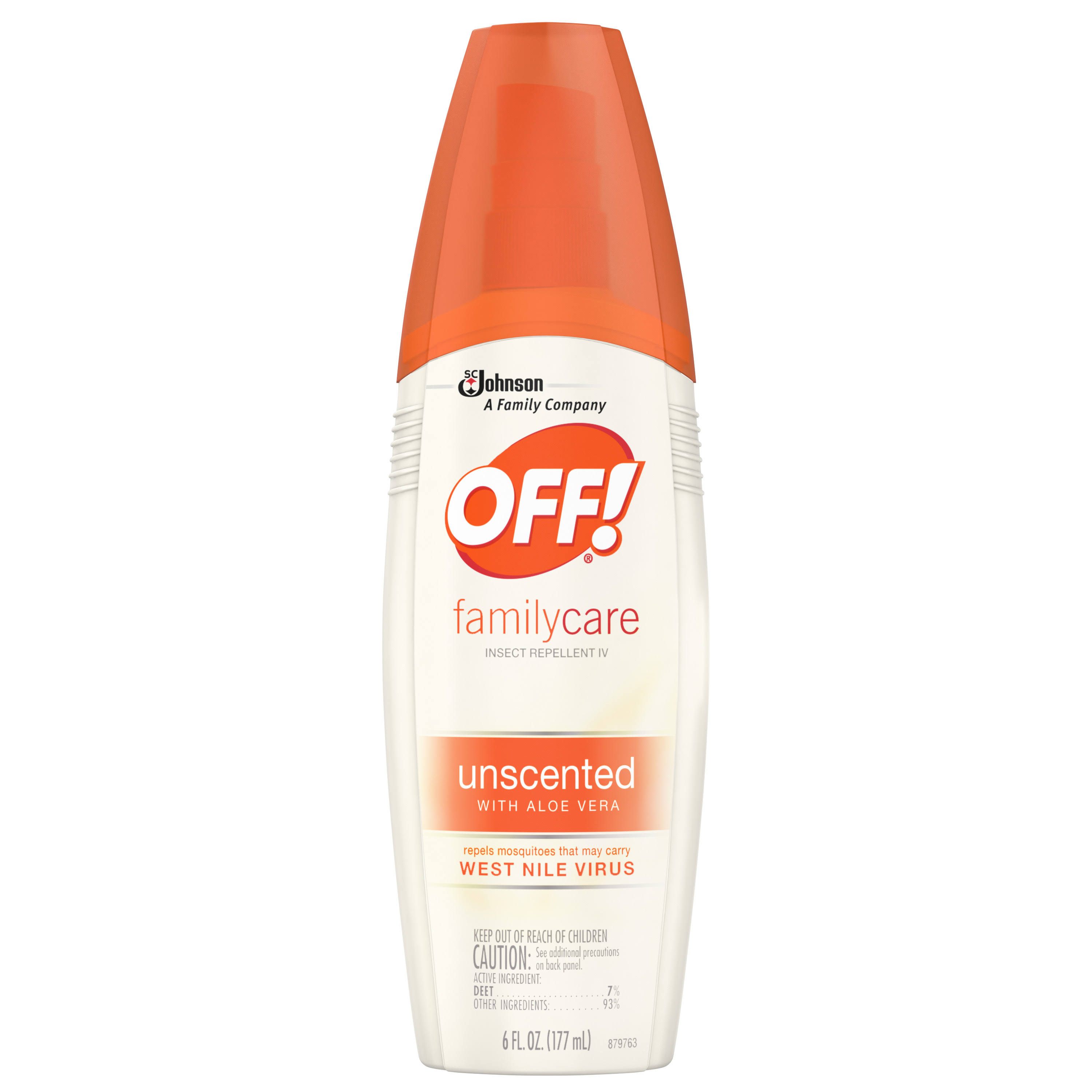 Off! Familycare Insect Repellent - Unscented, 6oz