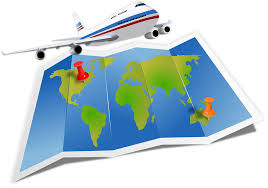 Airbus Flight Jet Jumbo Map Travel Vacation