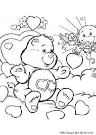 Love A Lot Bear Coloring Page Find Your Favorite In CARE BEARS Pages Section The Hellokids Members Who Have