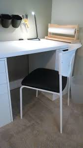 Ikea Desk Hutch Whiteboard by A Stylish Ikea Office Space With A Custom Desk And Feodor Swivel