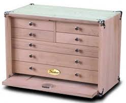 Pink Tool Box Dresser by Build It Yourself Gerstner Tool Chest Kit