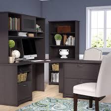 Bush Cabot L Shaped Desk Office Suite by Andover Mills Coalton 4 Piece Traditional L Shape Desk Office