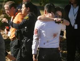 2 Mass Shooting In San Bernardino After Being Evacuated To A Golf Course Across The Street From Inland Regional Center