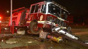 100 Fire Truck Driver 2 Indianapolis Fire Truck Destroyed In Crash Cars Driver Accused Of OWI