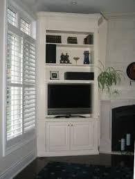 Living Room Corner Cabinet Ideas by 9 Best Tv Stand Images On Pinterest Corner Tv Shelves Tv Shelf