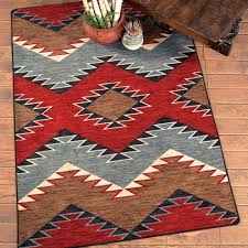 Round Red Bathroom Rug by Country Western Area Rugs Creative Rugs Decoration