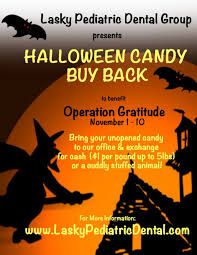 Operation Gratitude Halloween Candy Buy Back by In The Community