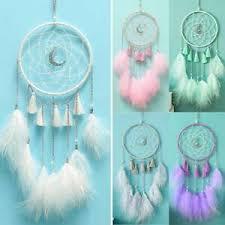 details zu traumfänger mit federn kinder geschenk wandbehang schlafzimmer dekoration de