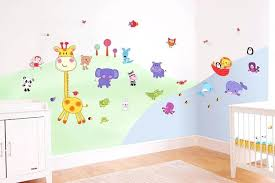 Sweet Idea Nursery Wall Decor With Decorations For Lovely Design