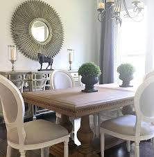 Dining Room Decor Farmhouse Table And Chairs Are From Restoration Hardware