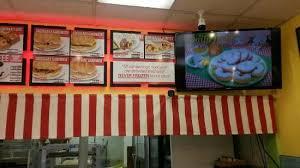 cuisine tv menut menu board tv slides of the various donut kolaches selections