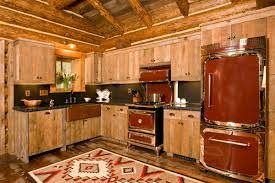 Log Cabin Kitchen Backsplash Ideas by Kitchen Charming Images Of Various Rustic Cabin Kitchens For