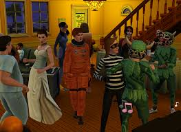 Sims Freeplay Halloween by Blog Community The Sims 3
